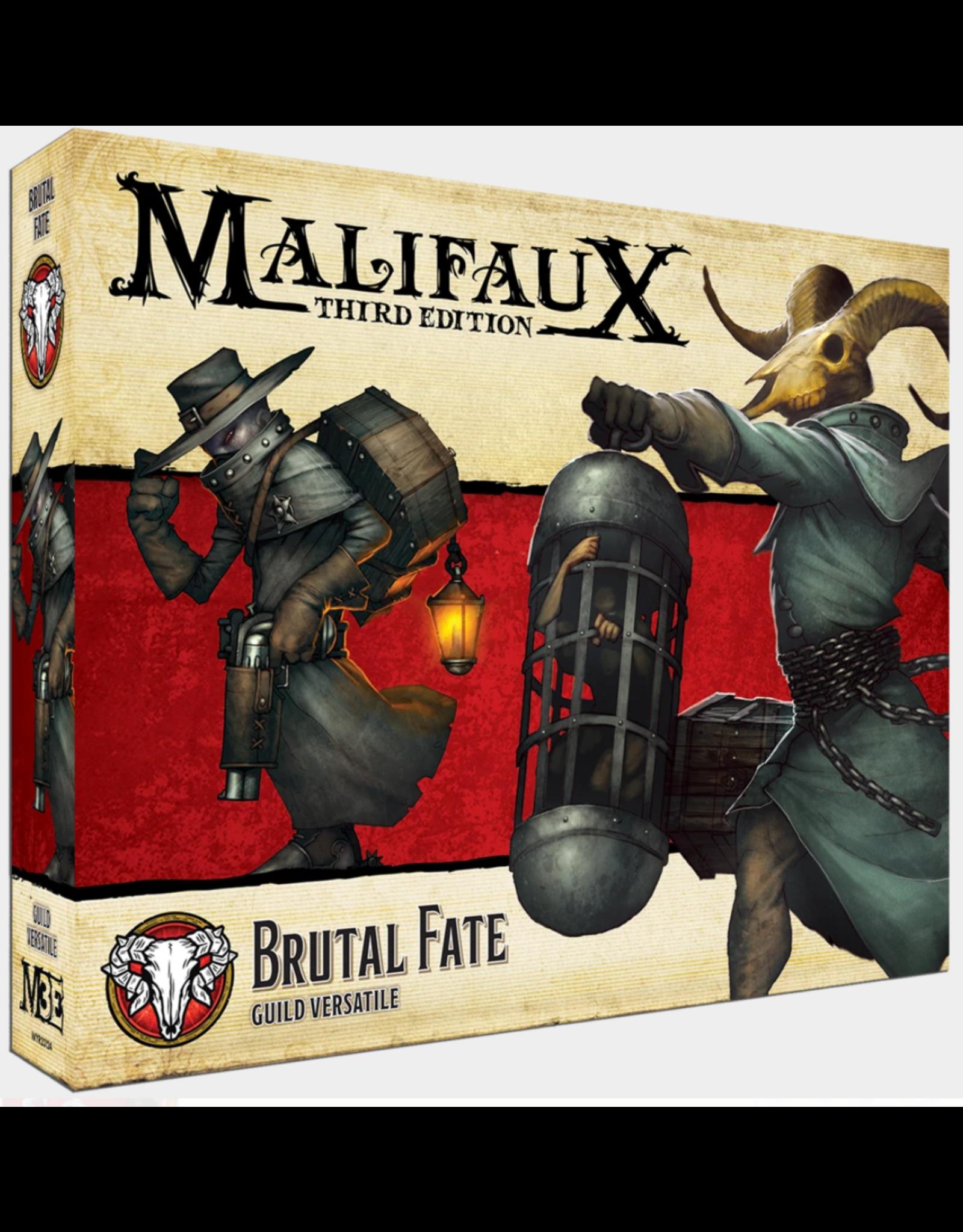 Wyrd Miniatures Malifaux: Guild Brutal Fate