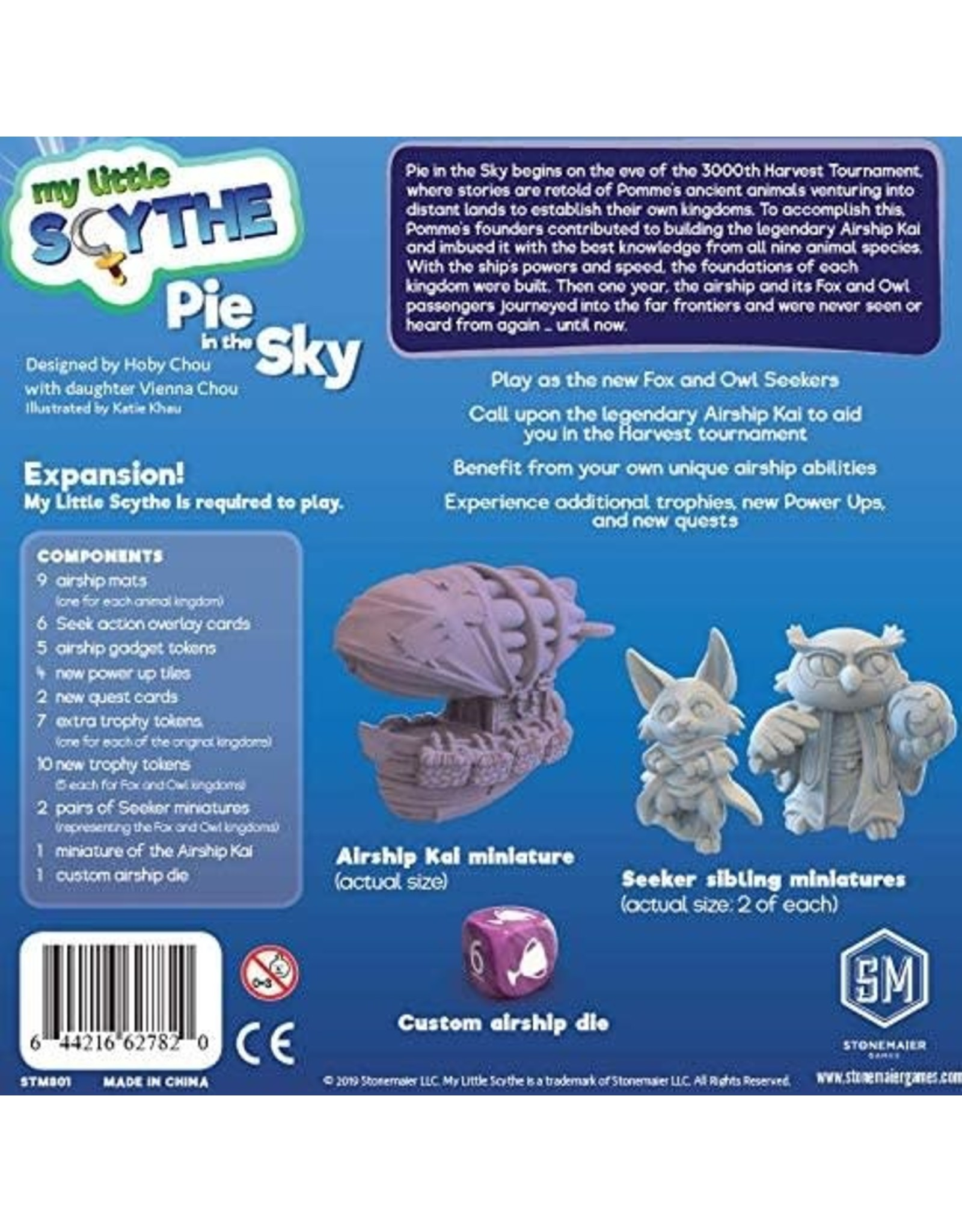Stonemaier Games My Little Scythe: Pie in the Sky Expansion