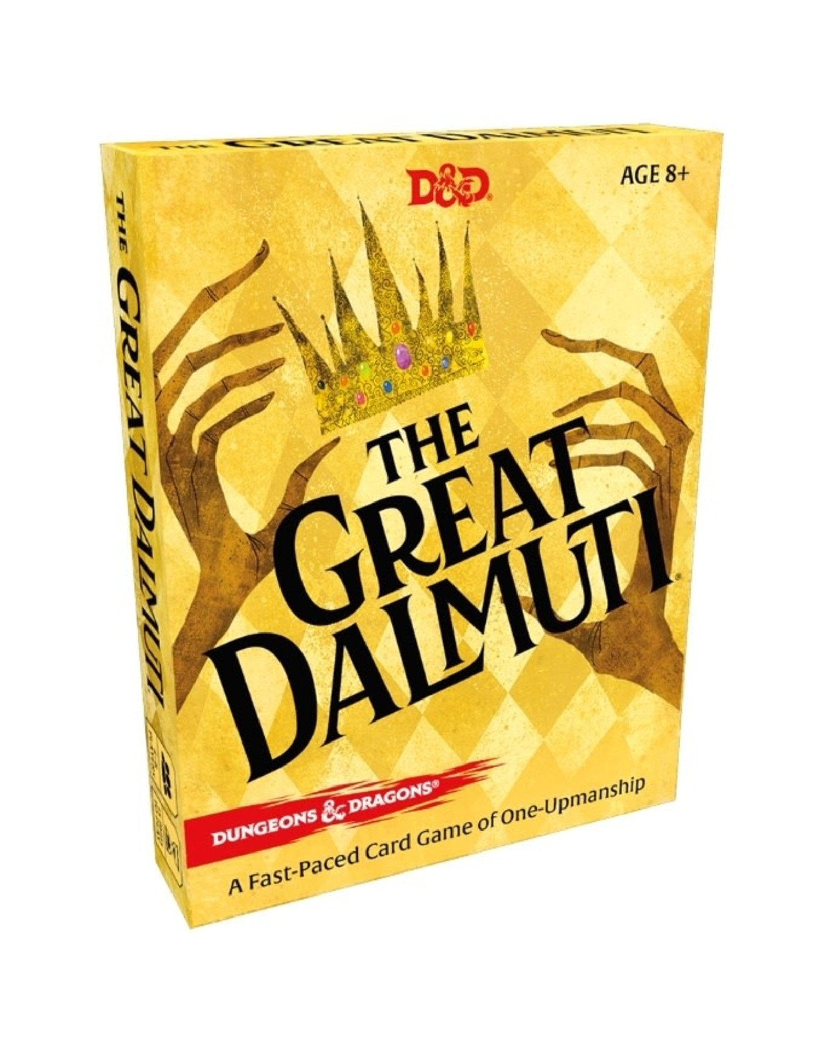 Wizards of the Coast Great Dalmuti: Dungeons & Dragons Board Game