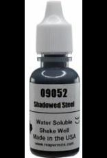 Reaper Master Series Paints: Shadowed Steel Metallic 1/2oz