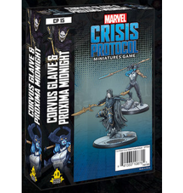 Atomic Mass Games Corvus Glaive and Proxima Midnight Character Pack - Marvel Crisis Protocol