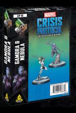 Atomic Mass Games Gamora and Nebula Character Pack - Marvel Crisis Protocol