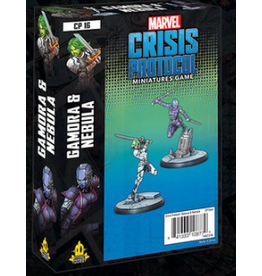 Atomic Mass Games Marvel: Crisis Protocol - Gamora and Nebula Character Pack