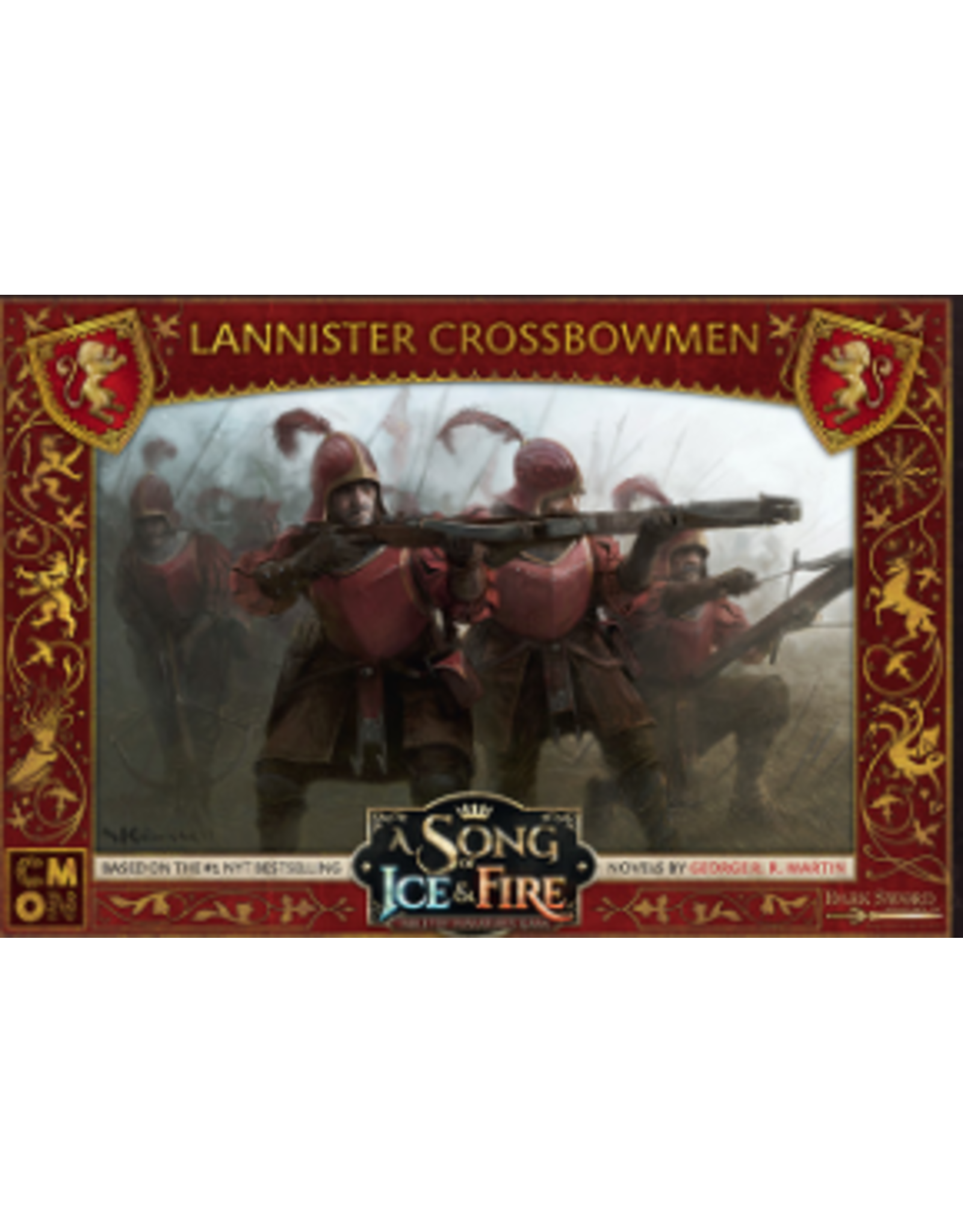 Cool Mini or Not A Song of Ice & Fire Tabletop Miniatures Game: Lannister Crossbowmen