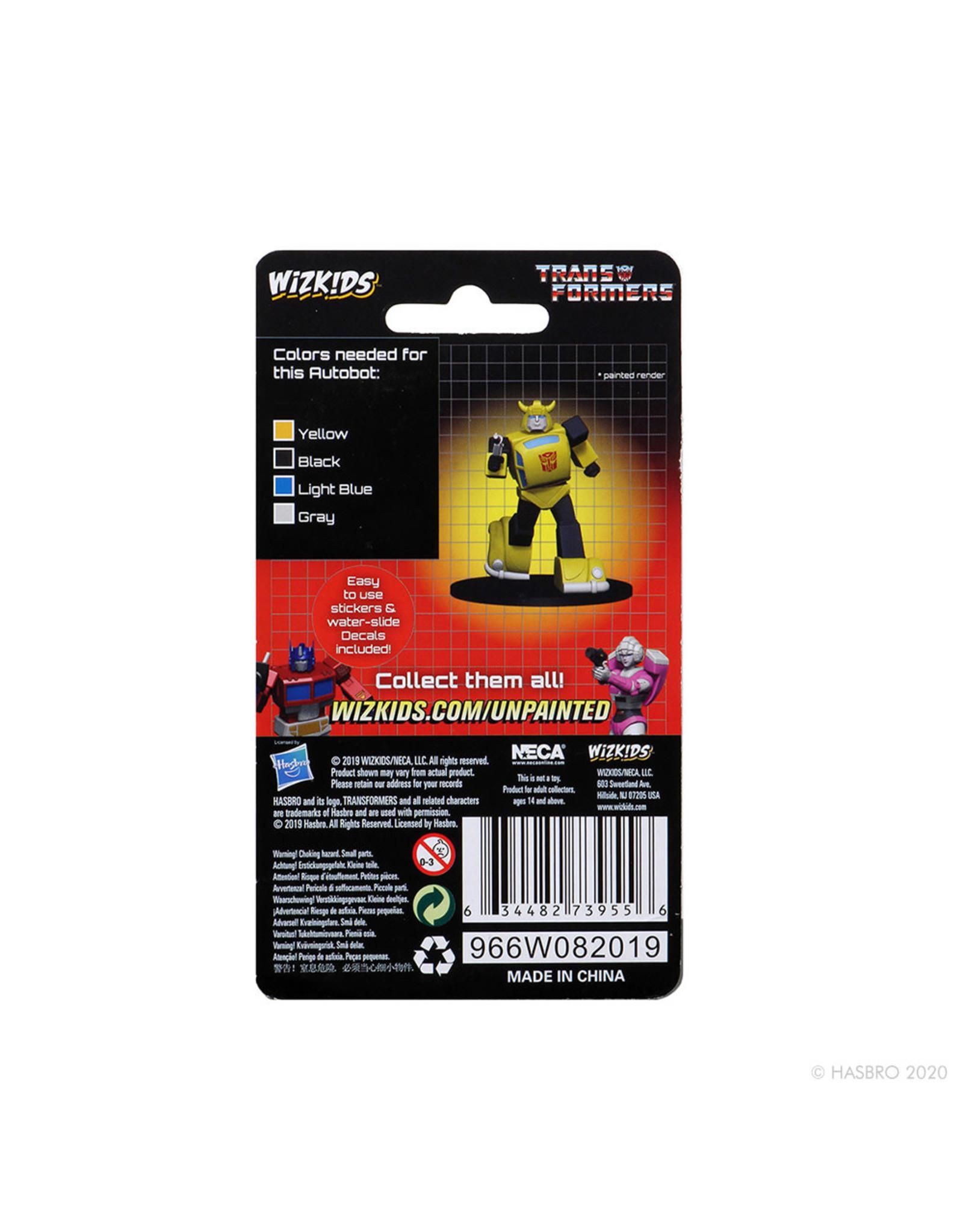 Wizkids Bumblebee: Transformers Deep Cuts Unpainted Miniatures