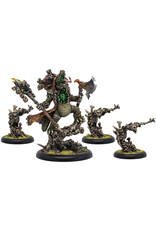 Privateer Press Warmachine: Legion of Everblight Ice Witches Epic Warlock Unit (4) (Resin/White Metal)