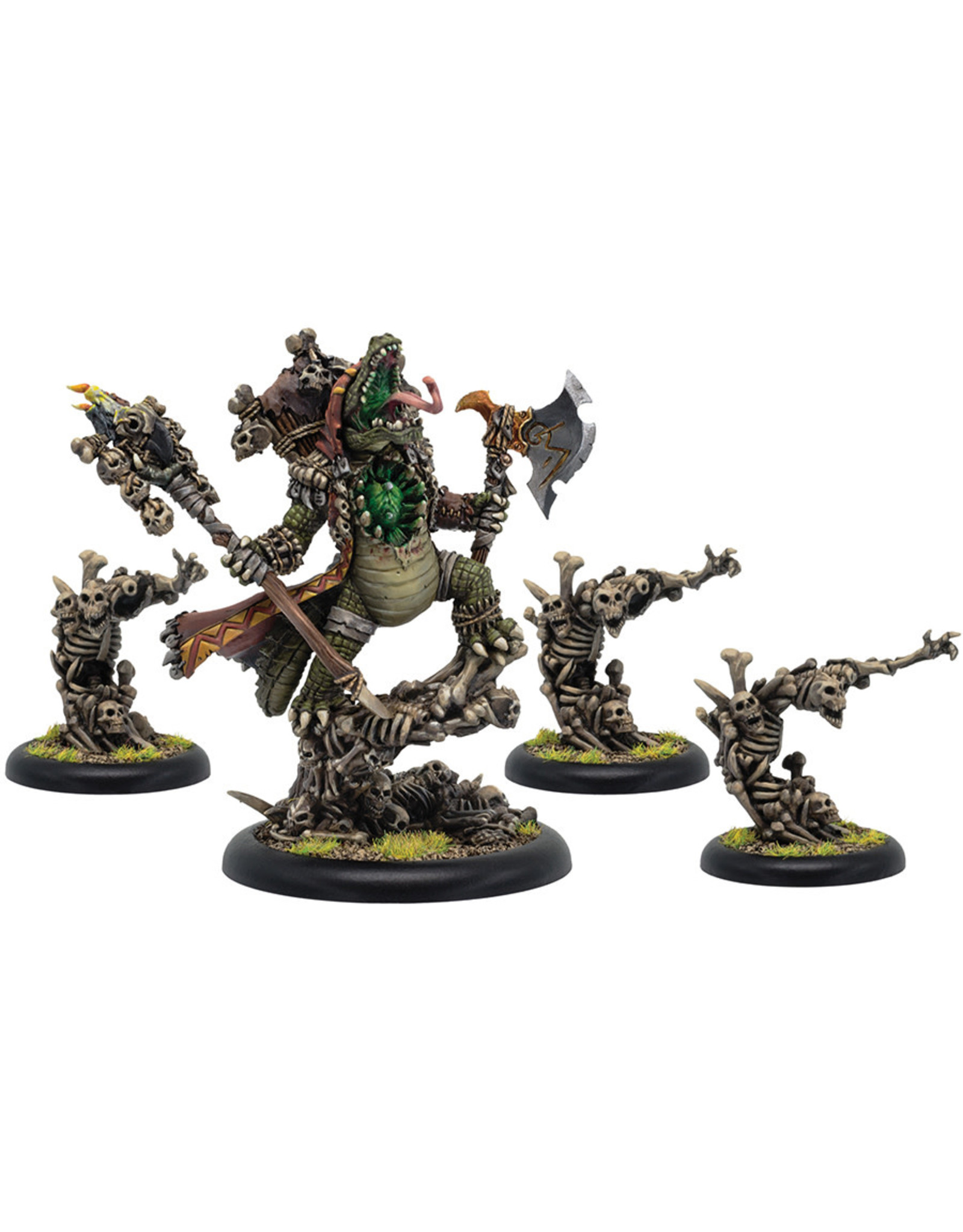 Privateer Press Minions Barnabas, Lord of Blood Epic Warlock Unit (4) (Resin/White Metal)