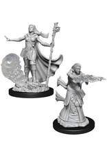 Wizkids D&D Nolzur's Marvelous Unpainted Miniatures: W11 Female Human Wizard