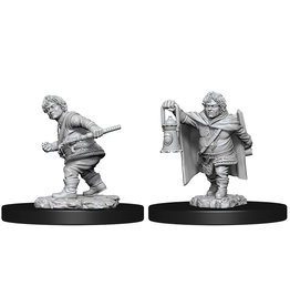 Wizkids D&D Nolzur's Marvelous Unpainted Miniatures: W11 Male Halfling Rogue