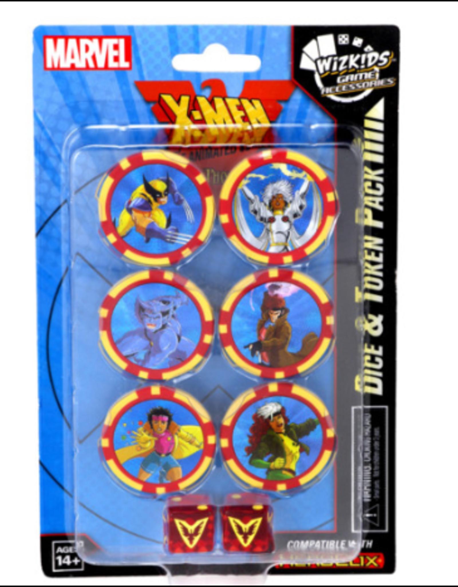 Wizkids Marvel HeroClix: X-Men the Animated Series Dark Phoenix Saga Dice and Token Pack
