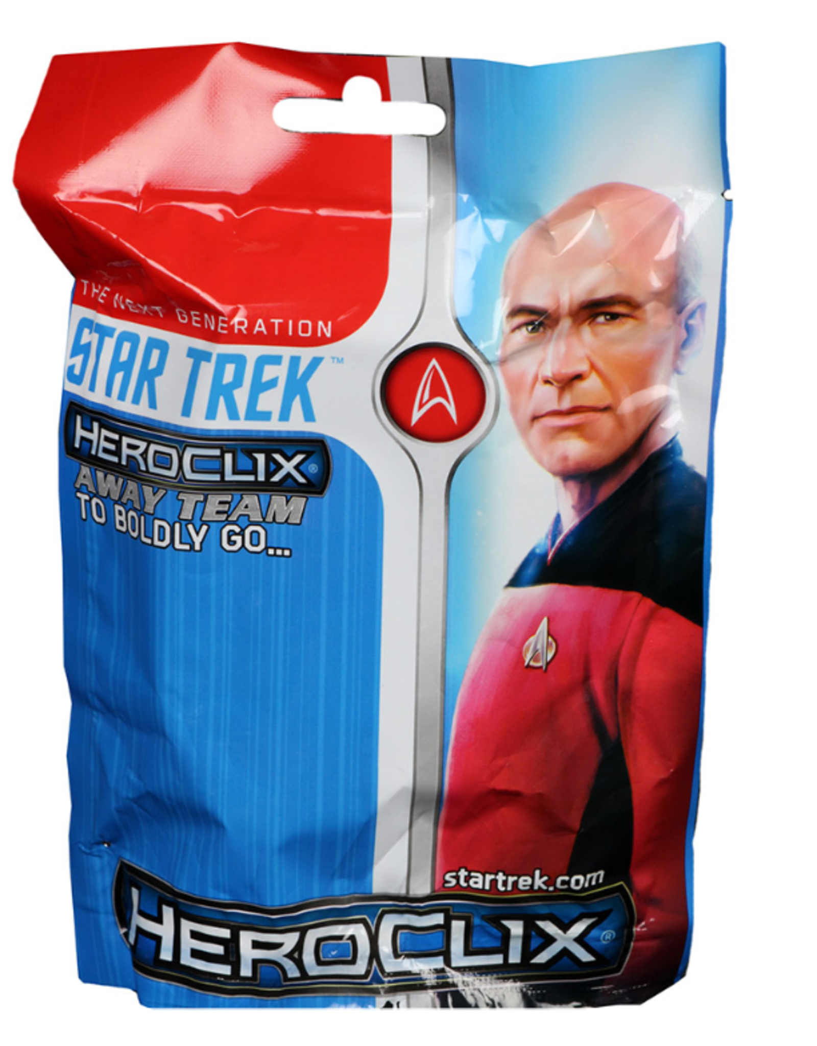 Wizkids Star Trek HeroClix Away Team: The Next Generation - To Boldly Go Pack