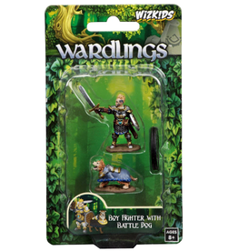 Wizkids Wardlings: Boy Fighter & Battle Dog
