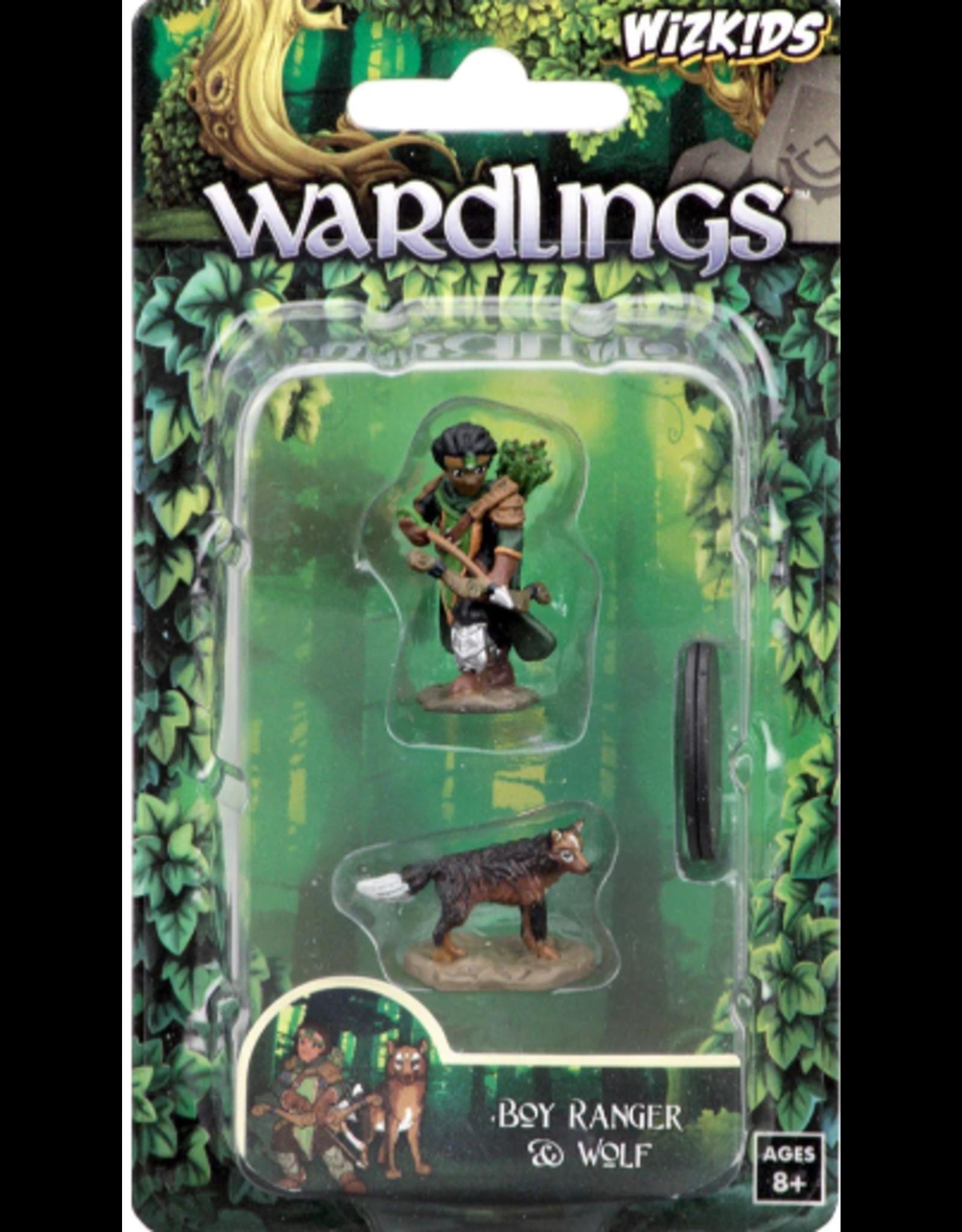 Wizkids Wardlings: Boy Ranger & Wolf
