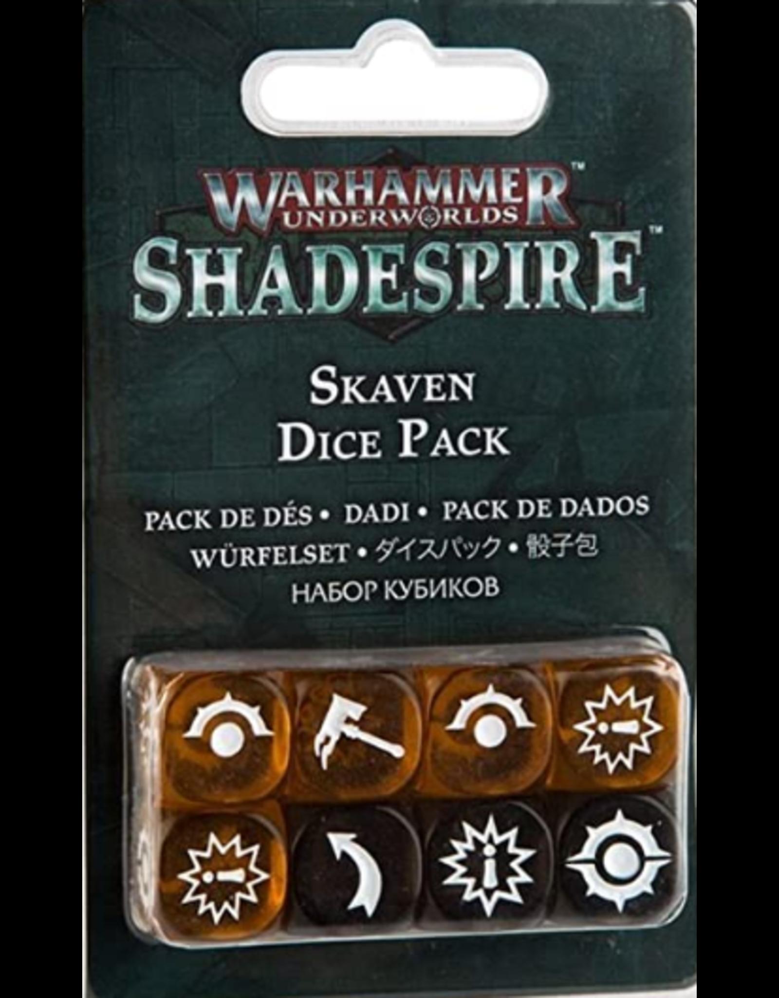 Games Workshop Shadespire: Skaven Dice