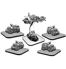 Privateer Press Scavenger Vans and Scrapper –MonsterpocalypseGreen Fury Unit (metal)