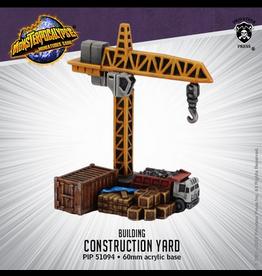 Privateer Press Monsterpocalypse Construction Yard Building (metal/resin)