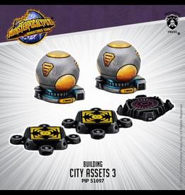 Privateer Press Monsterpocalypse City Assets 3 (metal/resin)