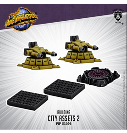 Privateer Press Monsterpocalypse City Assets 2 (metal/resin)
