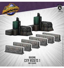 Privateer Press Monsterpocalypse City Assets 1 (metal)