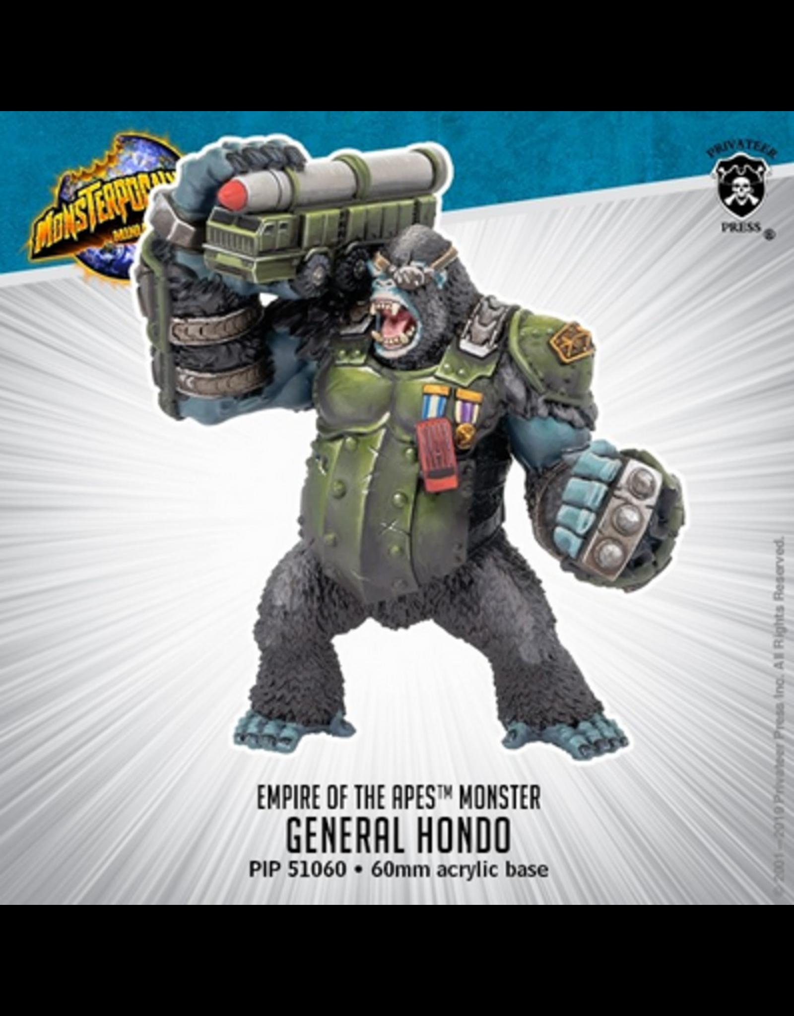 Privateer Press Monpoc General Hondo