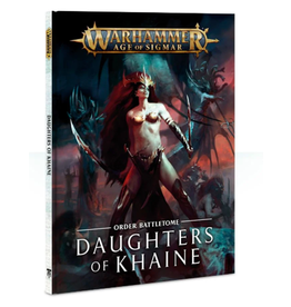 Games Workshop Warhammer Age of Sigmar Battletome: Daughters of Khaine