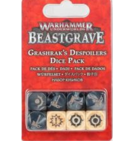 Games Workshop Warhammer Underworlds: Beastgrave Grashrak's Despoilers Dice Pack