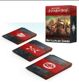 Games Workshop Warcry Battleplan cards