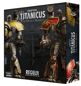 Games Workshop Adeptus Titanicus Rules set