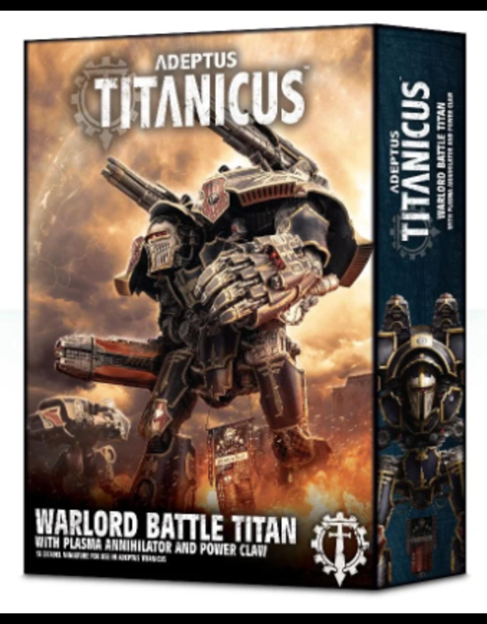 Games Workshop ADEPTUS TITANICUS Warlord Titan with Plasma Annihilator