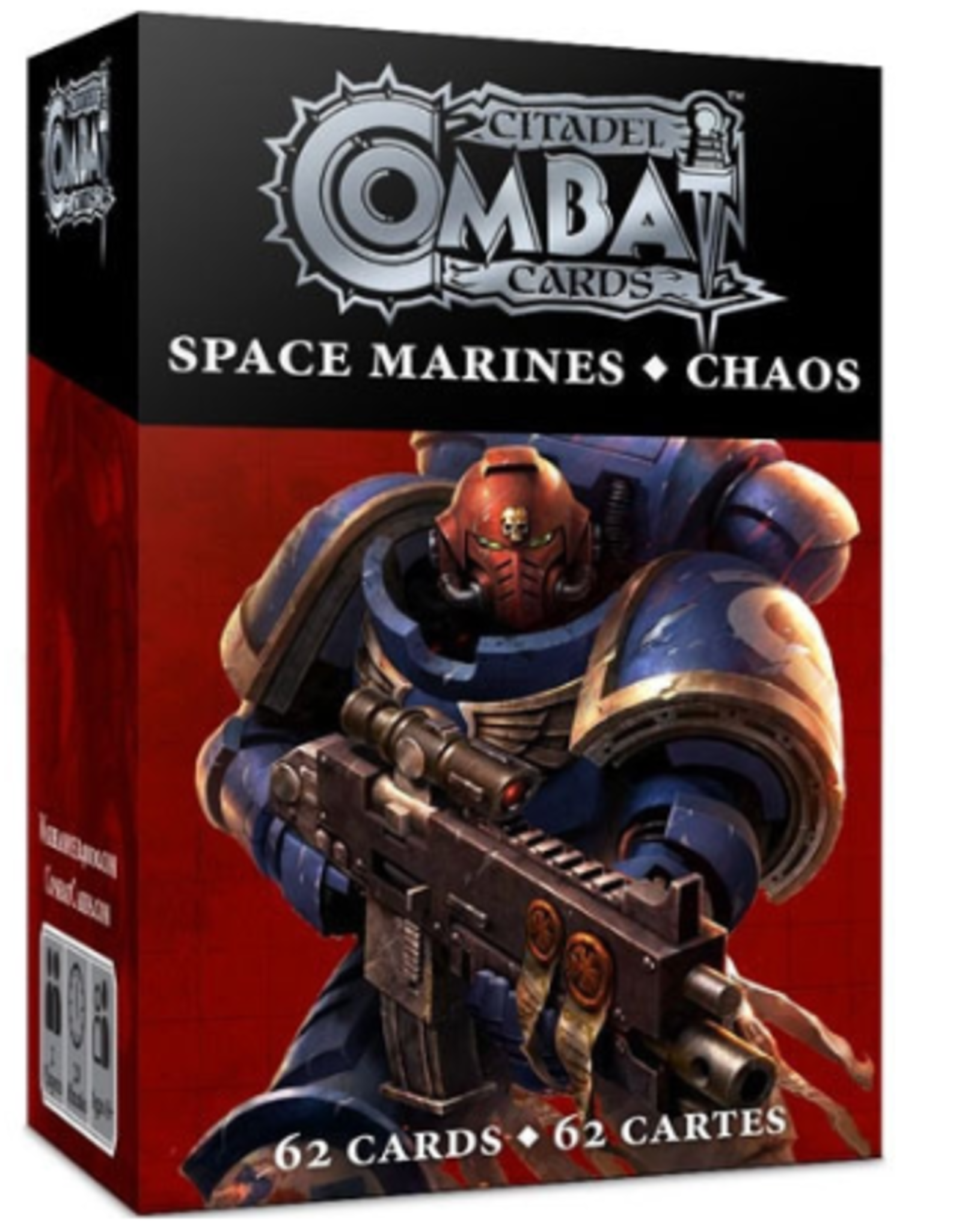 Games Workshop Citadel Combat Cards: Space Marines & Chaos