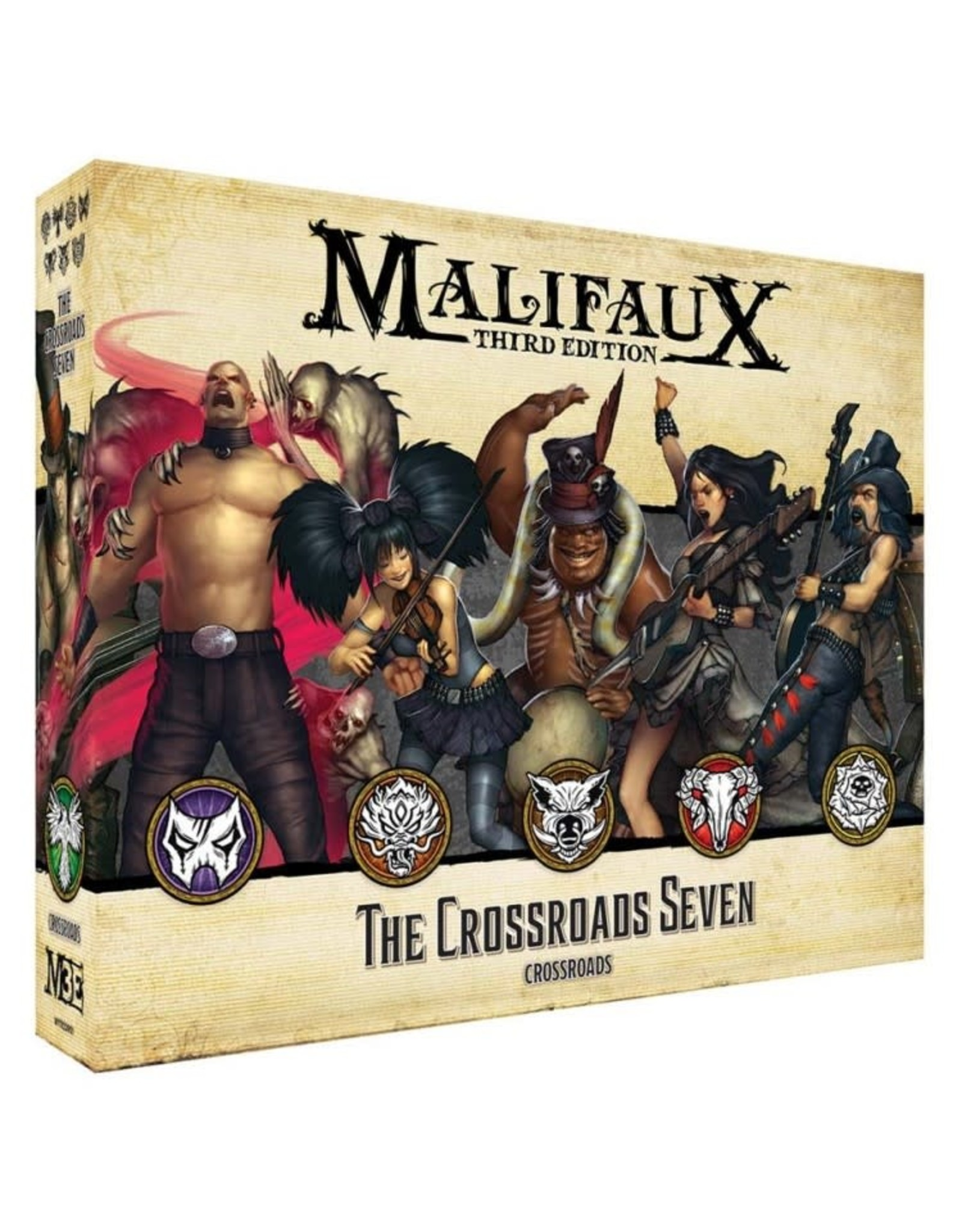 Wyrd Miniatures Malifaux: The Crossroads Seven