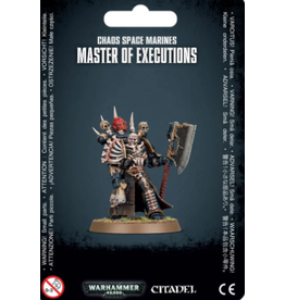 Games Workshop Warhammer 40K: Chaos Space Marines Master of Executions