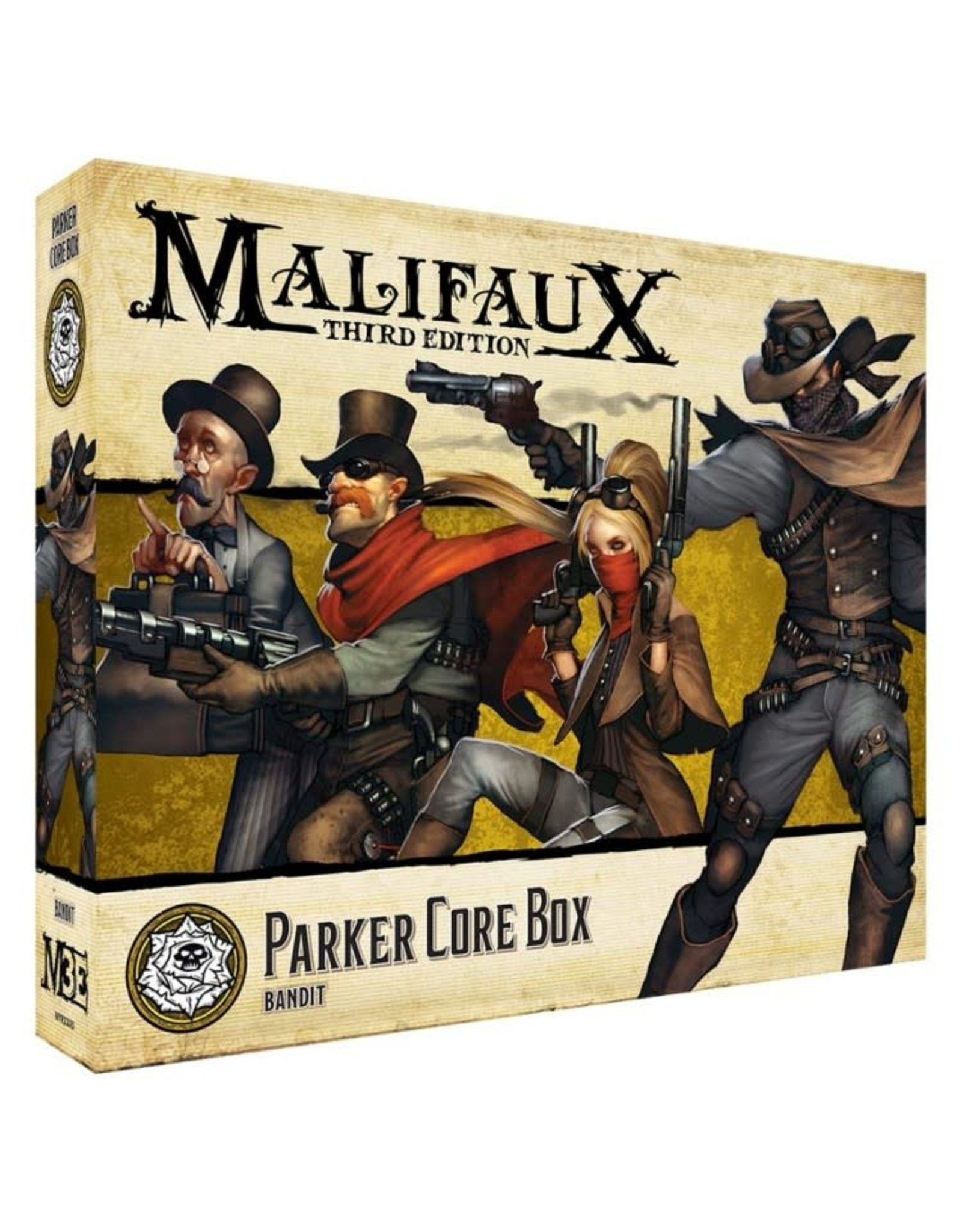 Wyrd Miniatures Malifaux: Outcasts Parker Core Box