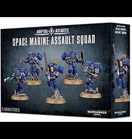 Games Workshop Warhammer 40K: Space Marine Assault Squad