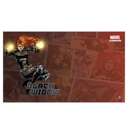 Fantasy Flight Games Marvel Champions LCG: Black Widow Game Mat