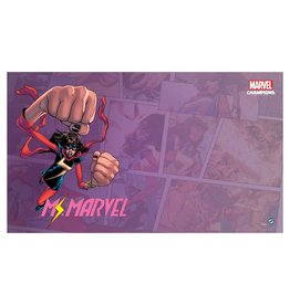 Fantasy Flight Games Marvel Champions LCG: Ms. Marvel Game Mat