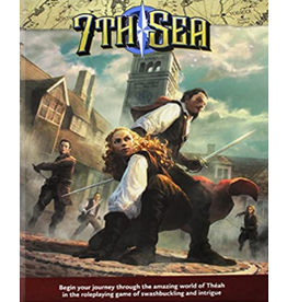 John Wick Presents 7th Sea Core Rulebook