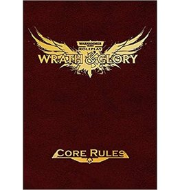 Ulisses-Spiele W40K Wrath & Glory RPG: Core Rules Limited Edition Red