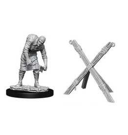 Wizkids Assistant & Torture Cross: Deep Cuts Unpainted Minis