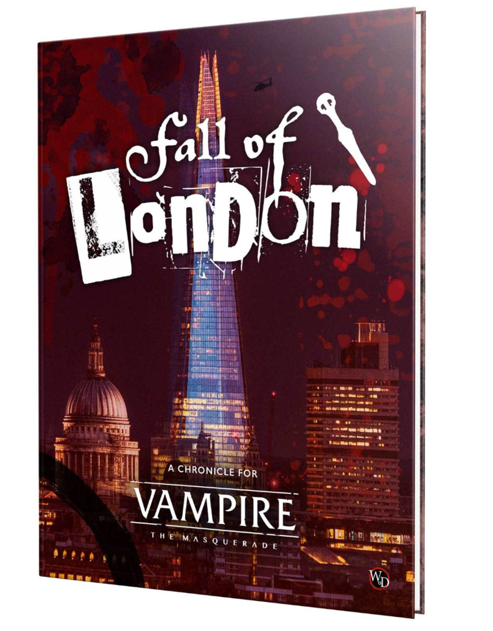 Modiphius Vampire the Masquerade: 5th Edition - The Fall of London Hardcover
