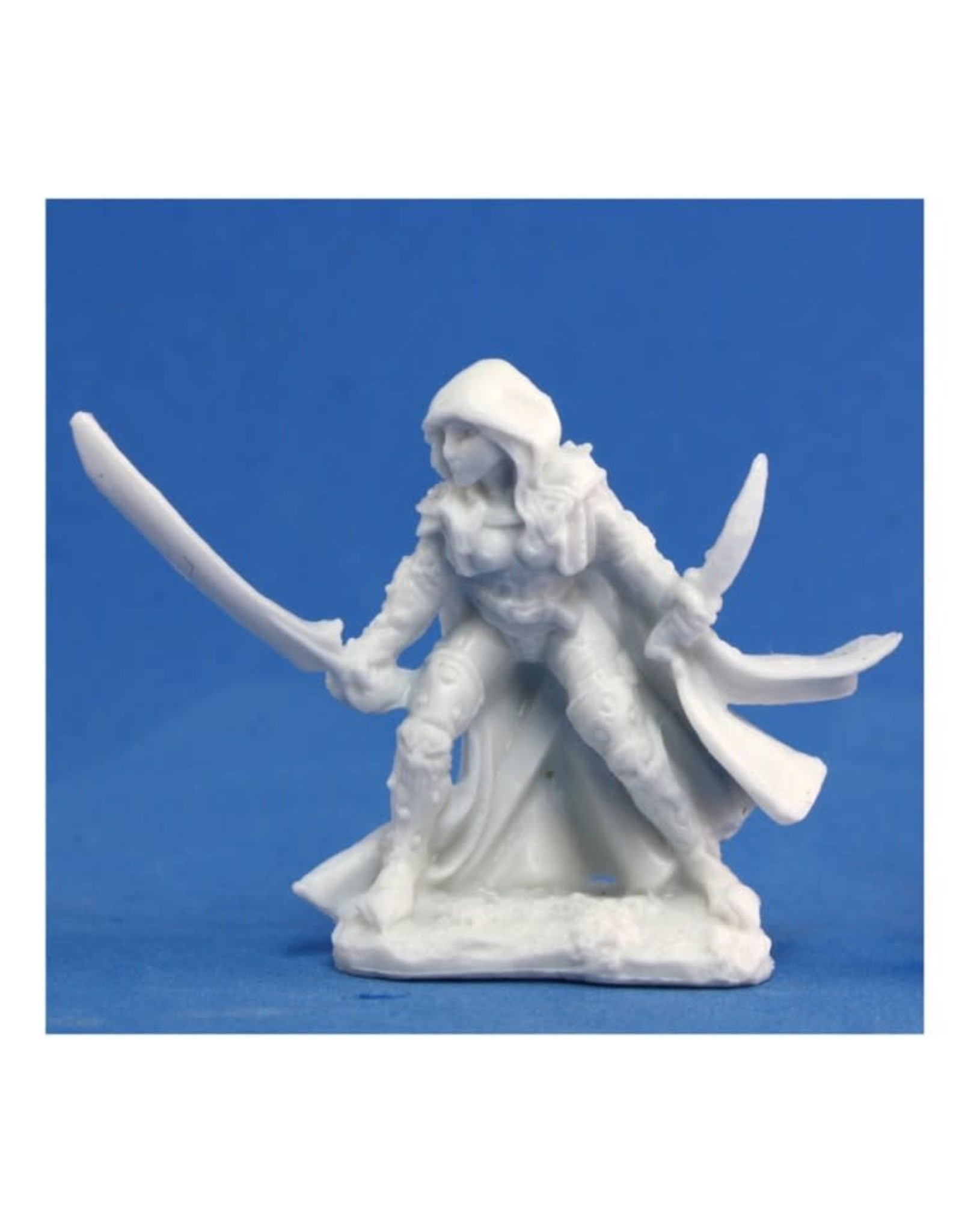 Reaper Dark Heaven Bones: Deladrin, Female Assassin