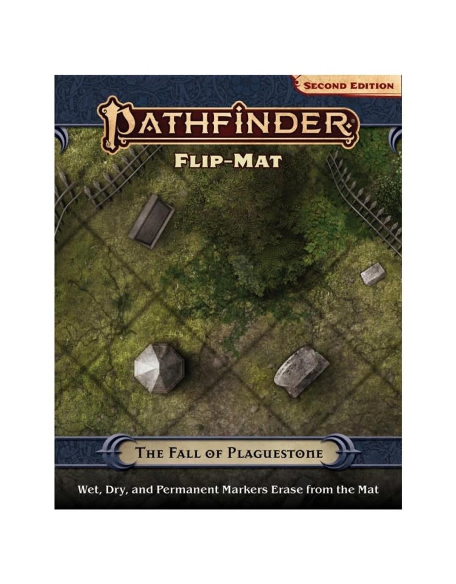 Paizo Pathfinder 2E: Flip-Mat - The Fall of Plaguestone