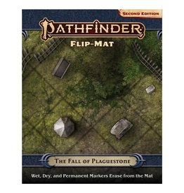 Paizo Pathfinder 2E: Flip-Mat - The Fall of Plaguestone