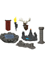 Wizkids W11 Pools & Pillars: WizKids Deep Cuts Unpainted Miniatures