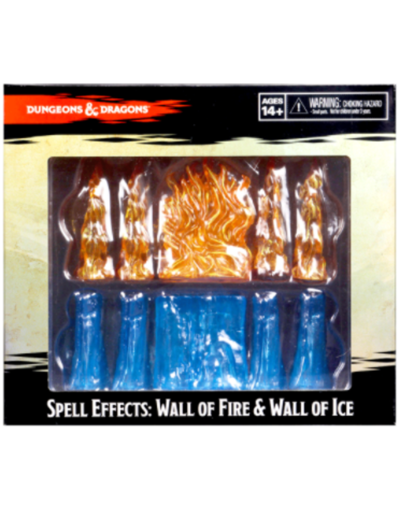 Wizkids Dungeons & Dragons Spell Effects: Wall of Fire & Wall of Ice