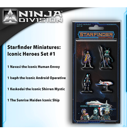 Pathfinder Starfinder RPG: Mini: Iconic Heroes Set 1