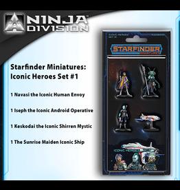 Pathfinder Starfinder RPG Miniatures: Iconic Heroes Set 1