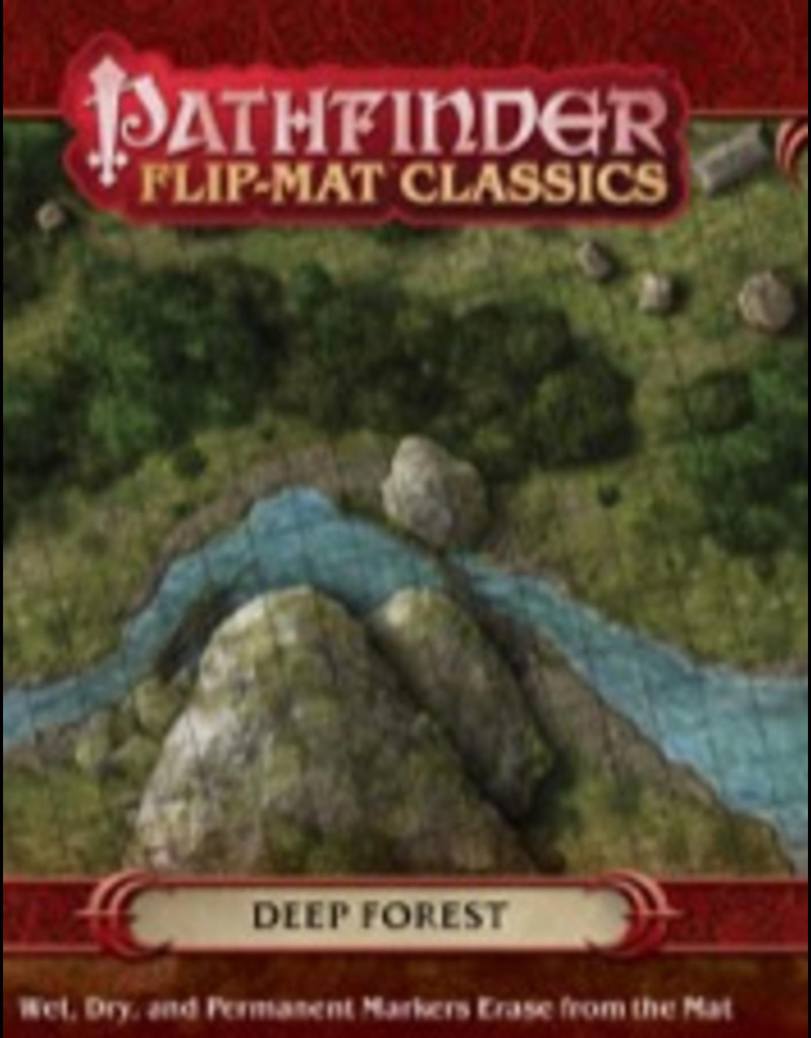 Paizo Pathfinder RPG: Flip-Mat Classics - Deep Forest