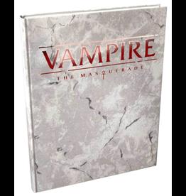 Modiphius Vampire The Masquerade: 5th Edition Core Rulebook Deluxe Alternate Cover