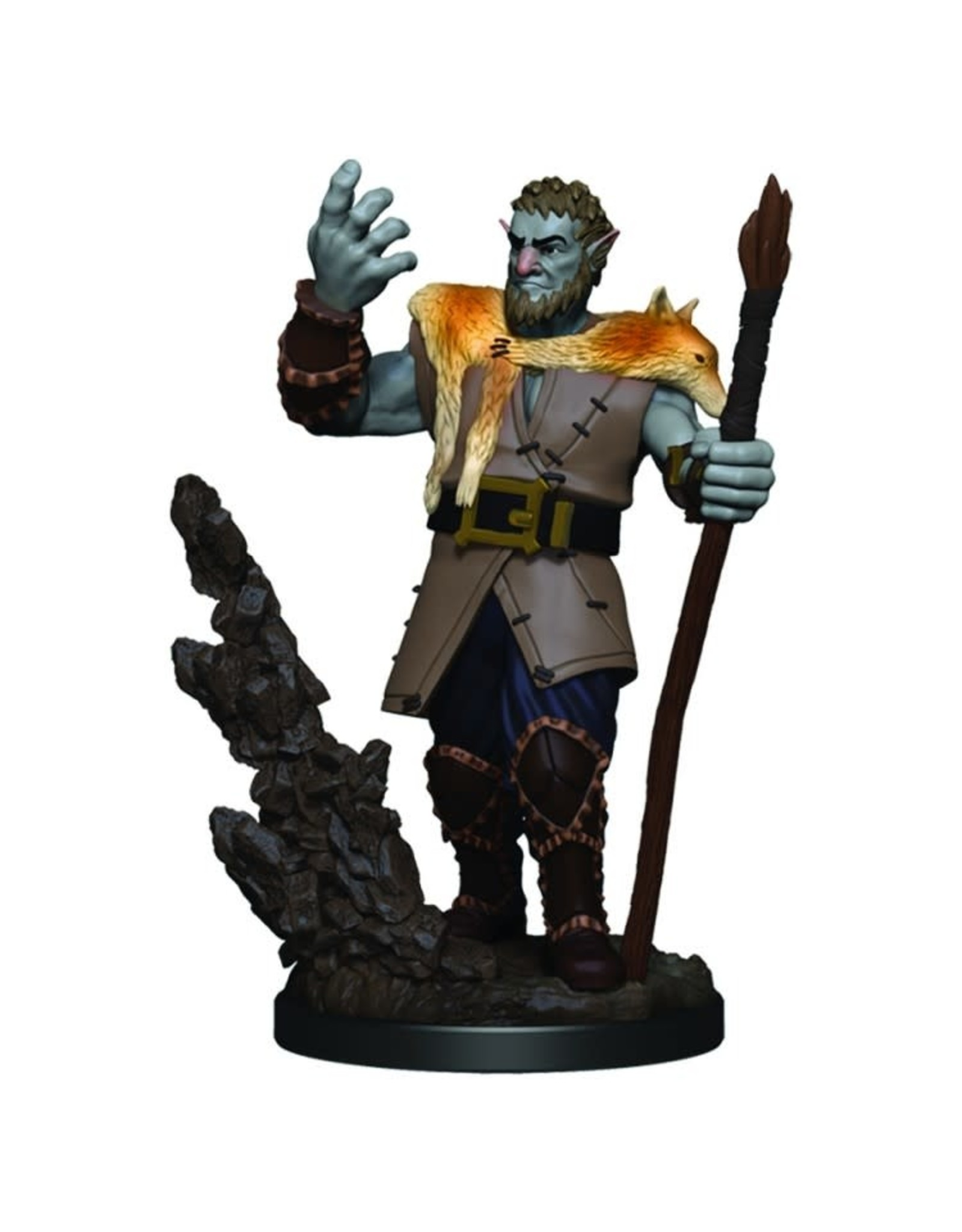 Wizkids D&D Minis: Firbolg Male Druid W3 Icons of the Realms Premium Figures